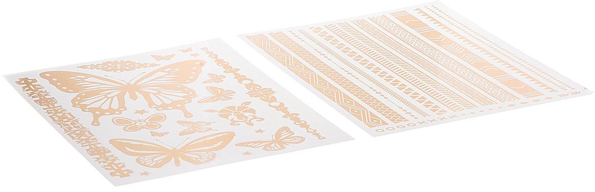 Bondibon Набор наклеек Тату ВВ2402 набор тату наклеек для тела татус 22