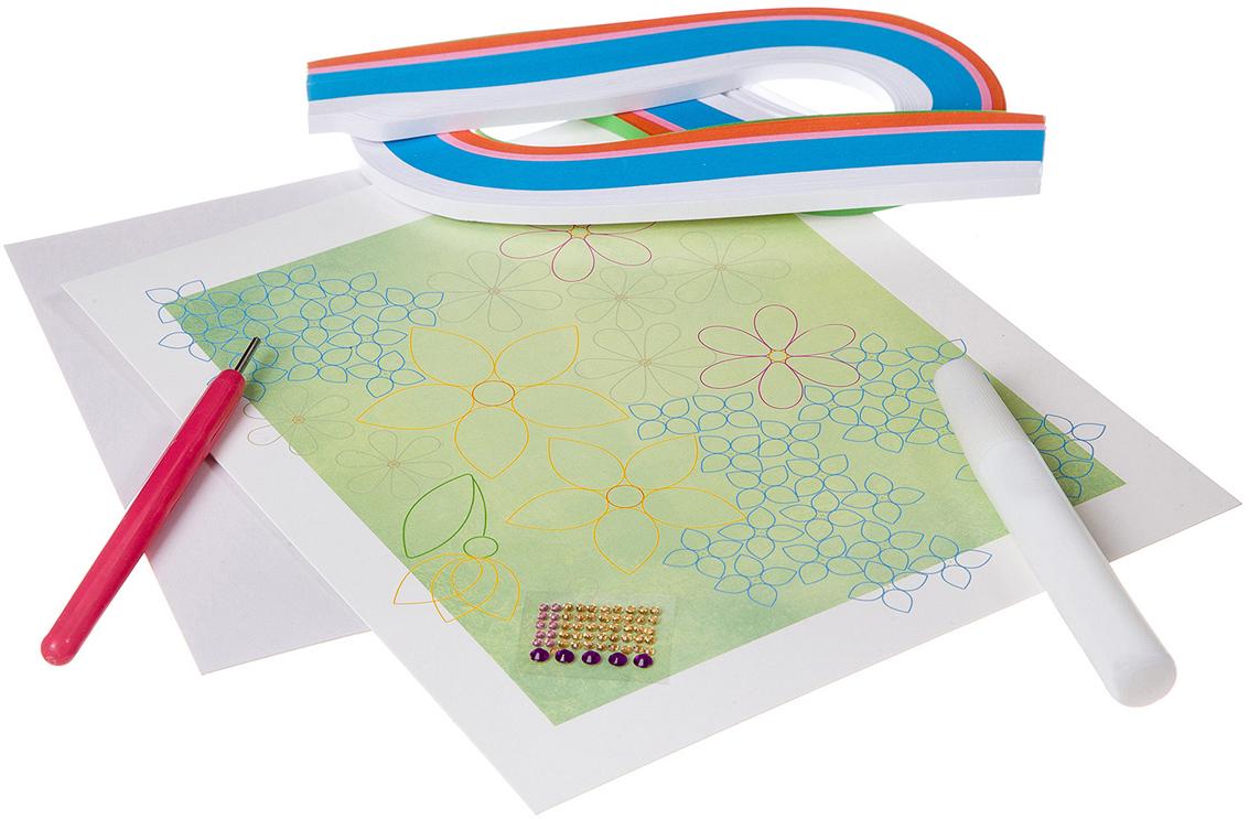 Bondibon Поделка из бумаги Квиллинг Картина Цветы