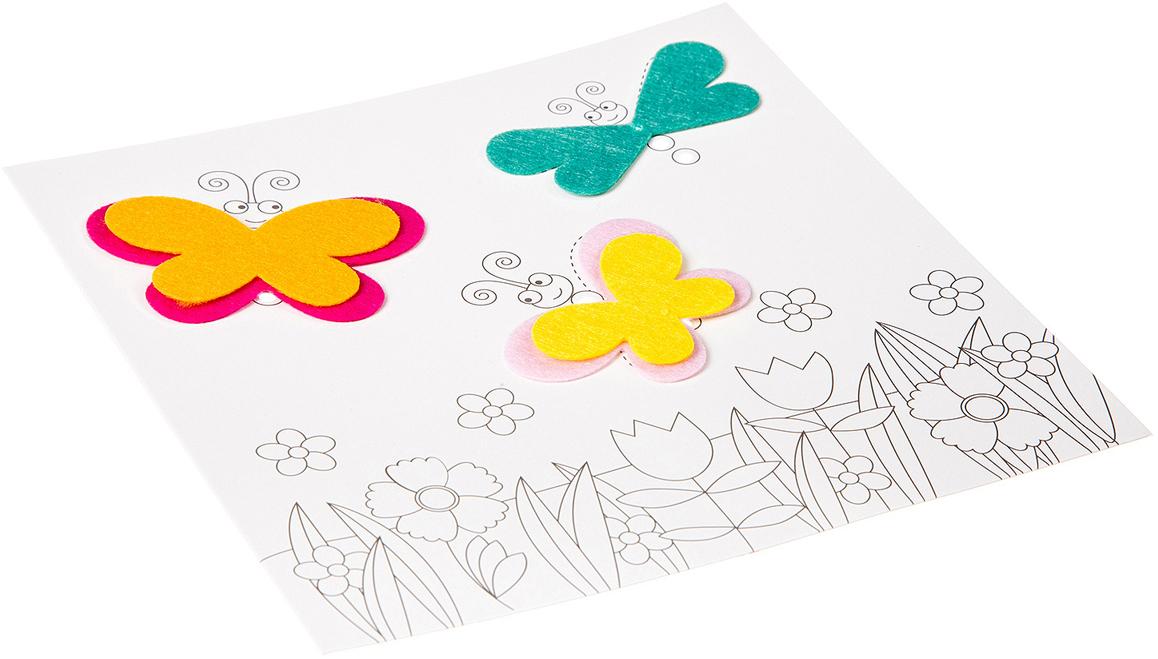 Bondibon Поделка из бумаги Картина своими руками Бабочки