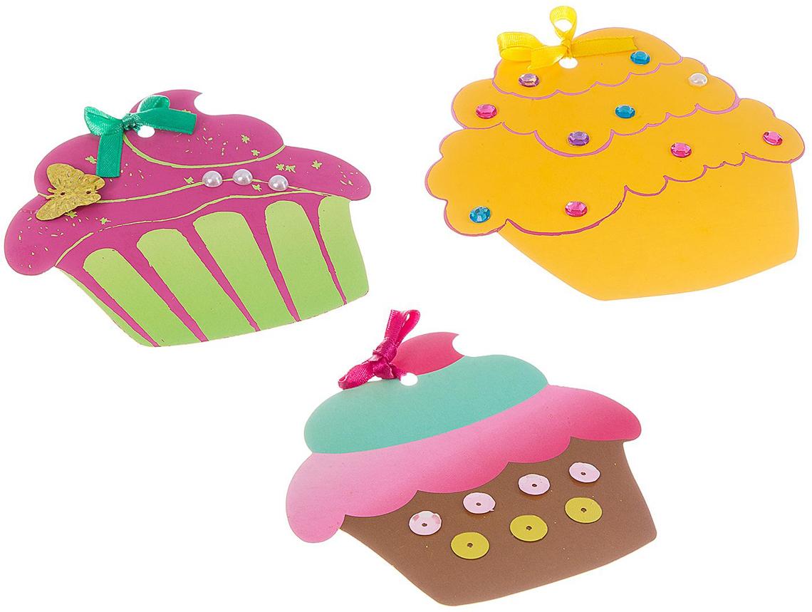 Bondibon Набор для создания гравюры Пирожные
