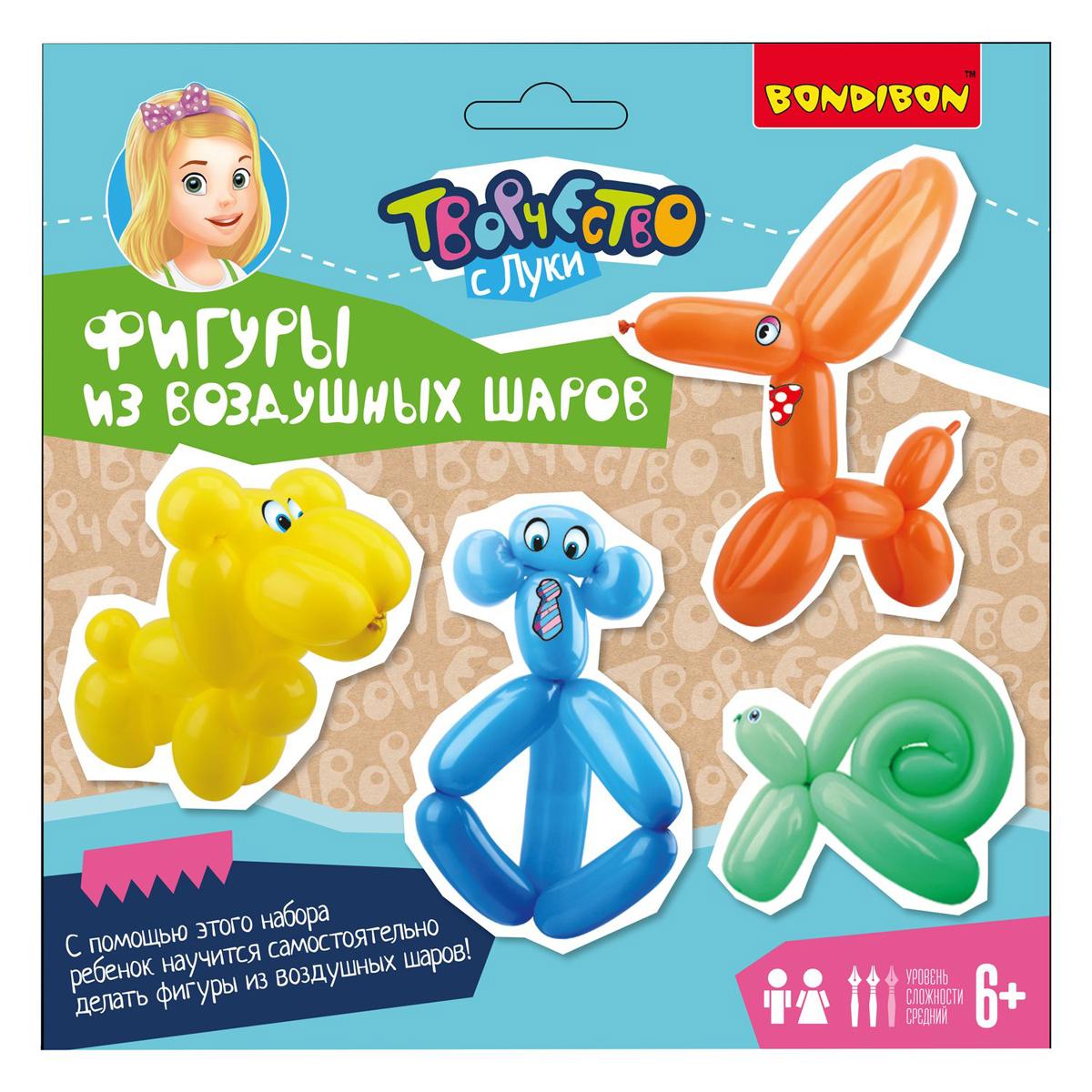 Bondibon Набор изготовления игрушки Фигуры из