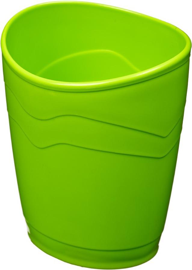 Attache Подставка для канцелярских принадлежностей Стакан Fantasy цвет зеленый