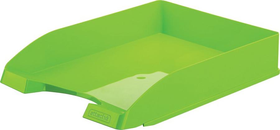 Attache Лоток для бумаг Fantasy цвет зеленый -  Лотки, подставки для бумаг