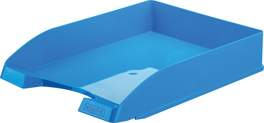 Attache Лоток для бумаг Fantasy цвет голубой -  Лотки, подставки для бумаг