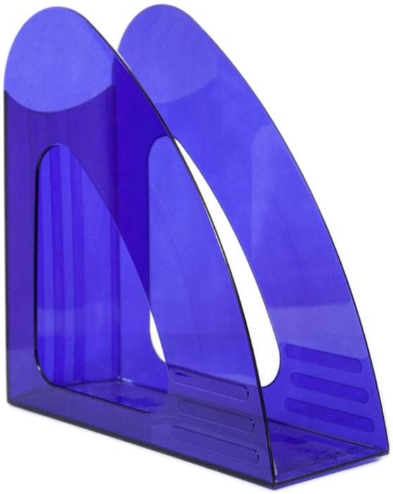 Attache Подставка для документов цвет прозрачный синий