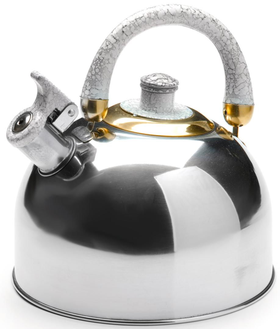 Чайник MAYER&BOCH изготовлен из высококачественной нержавеющей стали (CrNi 18/10). Изделия из нержавеющей стали не окисляются и не впитывают запахи, благодаря чему вы всегда получите натуральный, насыщенный вкус и аромат напитков. Капсулированное дно с прослойкой из алюминия обеспечивает наилучшее распределение тепла. Эргономичная ручка, выполненная из нержавеющей стали и бакелита, удобно лежит в руке. Носик чайника оснащен насадкой-свистком, который позволяет контролировать процесс кипячения или подогрева воды. Поверхность чайника гладкая, что облегчает уход за ним. Эстетичный и функциональный, с современным дизайном, чайник будет оригинально смотреться на любой кухне. Подходит для использования на всех типах плит, включая индукционные. Подходит для мытья в посудомоечной машине.