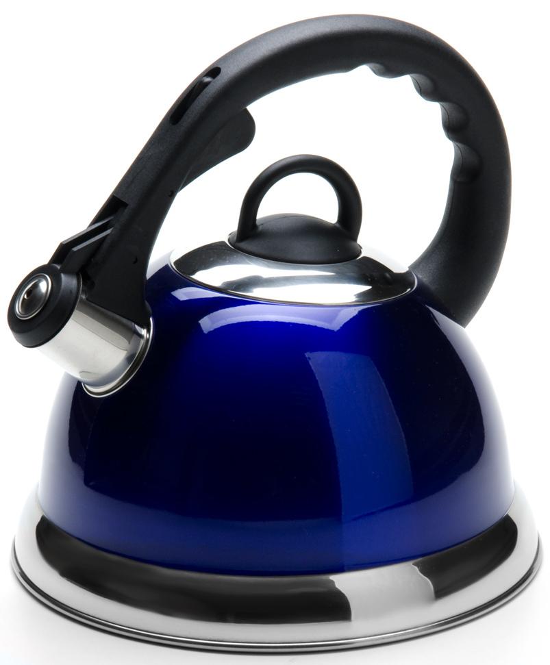 """Чайник """"Mayer & Boch"""" изготовлен из высококачественной нержавеющей стали  (CrNi 18/10). Изделия из нержавеющей стали не окисляются и не впитывают  запахи, благодаря чему вы всегда получите натуральный, насыщенный вкус и  аромат напитков. Капсулированное дно с прослойкой из алюминия  обеспечивает наилучшее распределение тепла. Фиксированная эргономичная  ручка выполнена из бакелита, также на ручке расположена клавиша механизма  открывания носика. Носик чайника оснащен насадкой-свистком, который  позволяет контролировать процесс кипячения или подогрева воды.  Поверхность чайника гладкая, что облегчает уход за ним. Эстетичный и  функциональный, с современным дизайном, чайник будет замечательно  смотреться на любой кухне.  Подходит для использования на всех типах плит, включая индукционные.  Подходит для мытья в посудомоечной машине."""