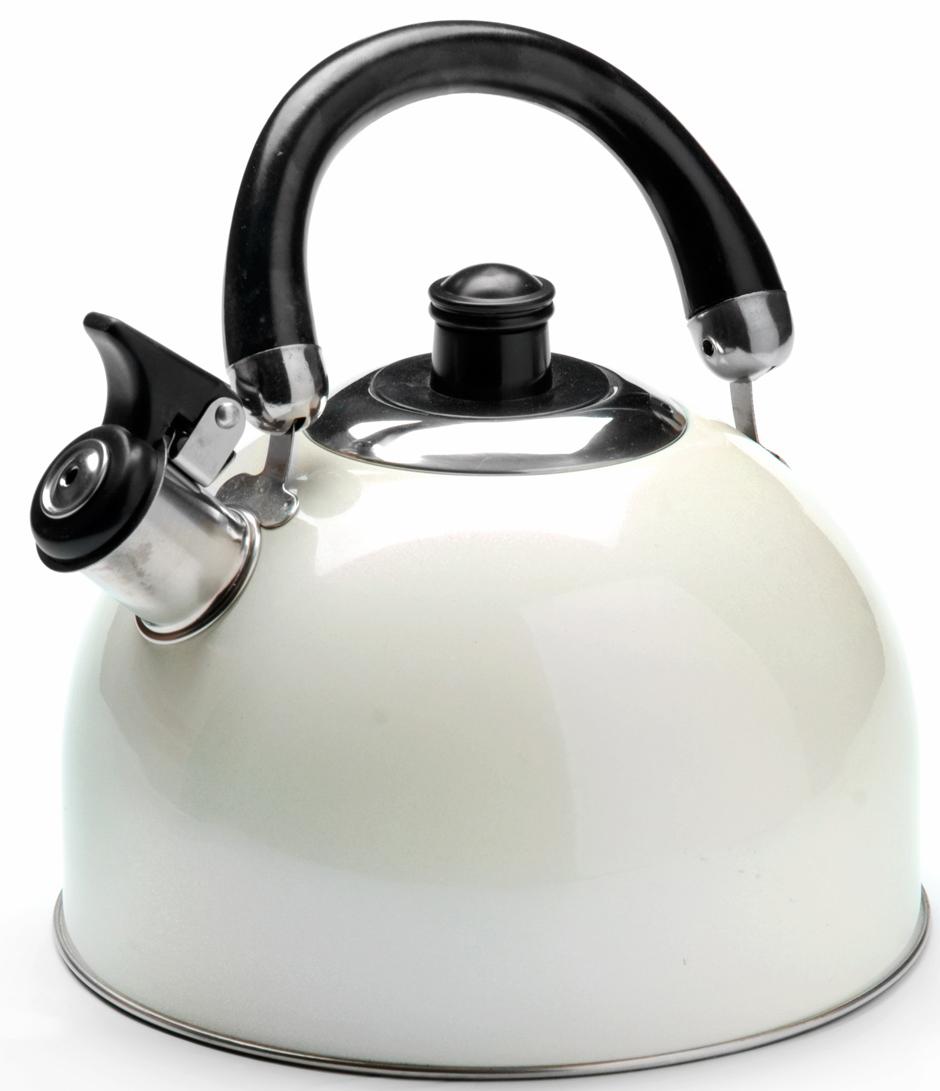 """Чайник """"Mayer & Boch"""" изготовлен из высококачественной нержавеющей стали. Изделия из нержавеющей стали не окисляются и не впитывают запахи, благодаря чему вы всегда получите натуральный, насыщенный вкус и аромат напитков. Капсулированное дно с прослойкой из алюминия обеспечивает наилучшее распределение тепла. Удобная ручка выполнена из нержавеющей стали и бакелита. Носик чайника оснащен насадкой-свистком, который позволяет контролировать процесс кипячения или подогрева воды. Поверхность чайника гладкая, что облегчает уход за ним. Эстетичный и функциональный, с современным дизайном, чайник будет оригинально смотреться на любой кухне. Подходит для использования на всех типах плит, включая индукционные. Подходит для мытья в посудомоечной машине."""