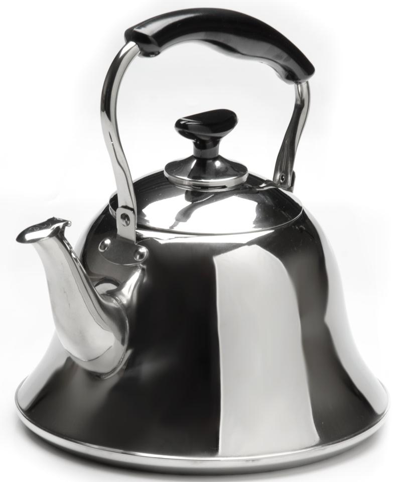 """Чайник """"Mayer & Boch"""" изготовлен из высококачественной нержавеющей стали.  Изделия из нержавеющей стали не окисляются и не впитывают запахи,  благодаря чему вы всегда получите натуральный, насыщенный вкус и аромат  напитков. Капсулированное дно с прослойкой из алюминия обеспечивает  наилучшее распределение тепла. Эргономичная ручка выполнена из  нержавеющей стали с бакелитовой вставкой и удобно лежит в руке. Крышка  чайника оснащен свистком, который позволяет контролировать процесс  кипячения или подогрева воды. Поверхность чайника серебристая с зеркальным  блеском.  Эстетичный и функциональный, с классическим дизайном, чайник будет  оригинально смотреться на любой кухне. Подходит для использования на всех  типах плит, кроме индукционных. Подходит для мытья в посудомоечной  машине."""