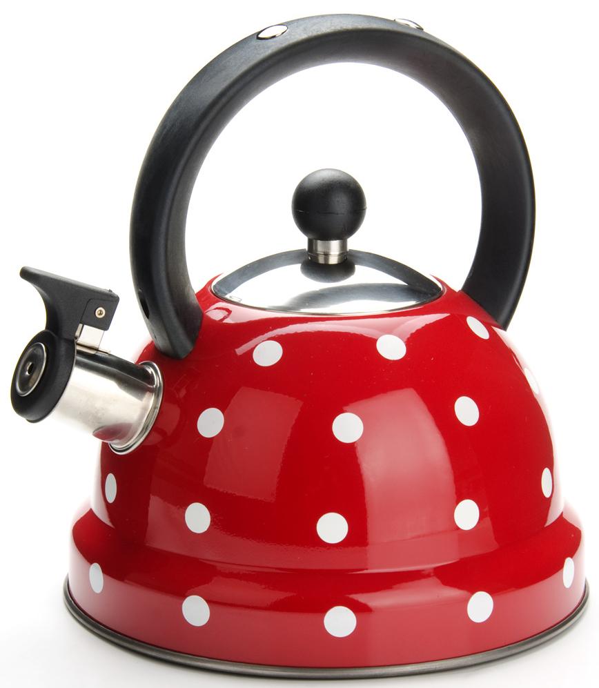 """Чайник """"Mayer & Boch"""" изготовлен из высококачественной нержавеющей стали. Изделия из нержавеющей стали не окисляются и не впитывают запахи, благодаря чему вы всегда получите натуральный, насыщенный вкус и аромат напитков. Фиксированная эргономичная ручка выполнена из нейлона. Носик чайника оснащен насадкой-свистком, который позволяет контролировать процесс кипячения или подогрева воды. Поверхность чайника гладкая, что облегчает уход за ним. Эстетичный и функциональный, с современным дизайном, чайник будет замечательно смотреться на любой кухне. Подходит для использования на всех типах плит, кроме индукционных. Подходит для мытья в посудомоечной машине."""