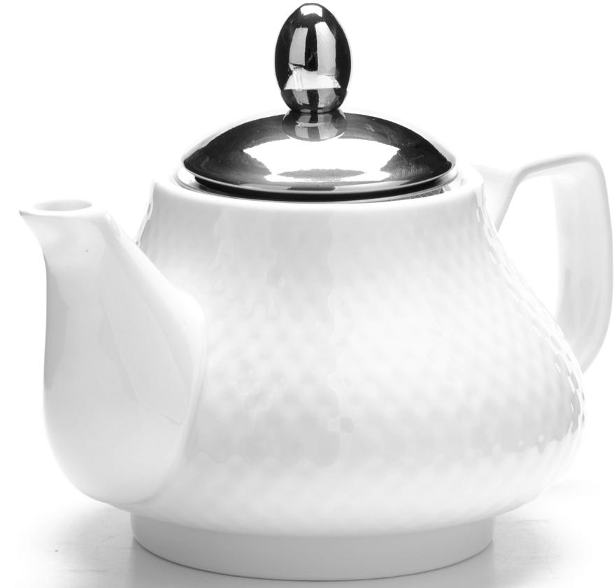 Чайник заварочный Loraine, цвет: белый, 750 мл. 26593-1 чайник заварочный loraine 850 мл