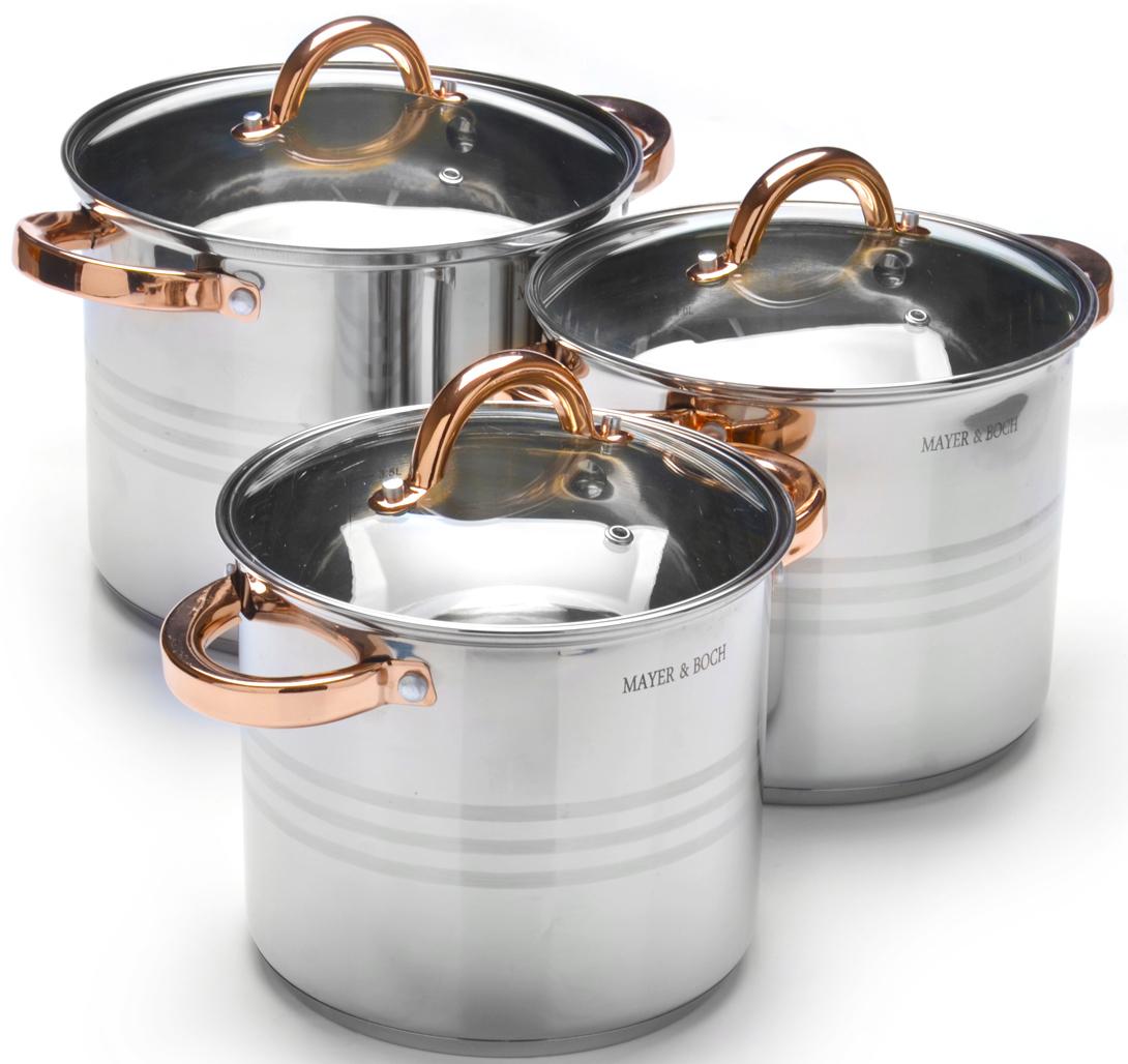 Набор посуды Mayer & Boch, 6 предметов. 27549 набор посуды mayer