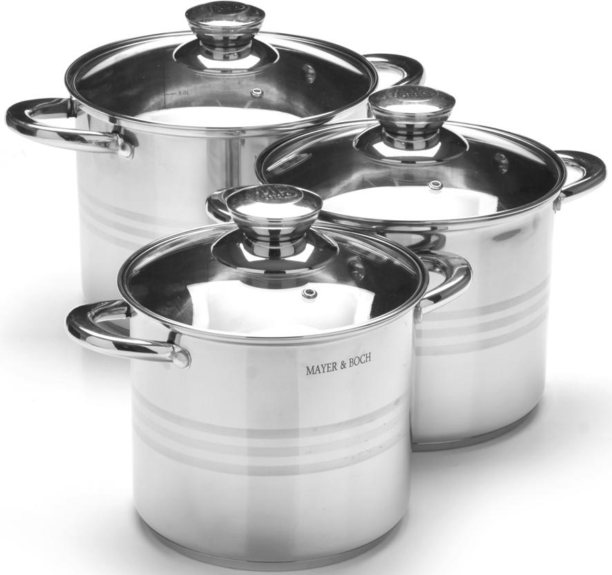 Набор посуды Mayer & Boch, 6 предметов. 27556 набор посуды mayer