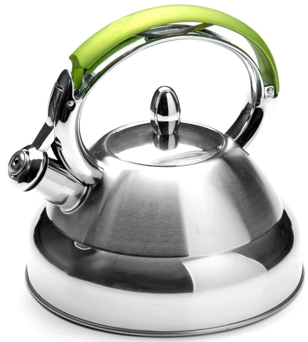 Чайник MAYER&BOCH изготовлен из высококачественной нержавеющей стали. Изделия из нержавеющей стали не окисляются и не впитывают запахи, благодаря чему вы всегда получите натуральный, насыщенный вкус и аромат напитков. Капсулированное дно с прослойкой из алюминия обеспечивает наилучшее распределение тепла. Удобная фиксированная ручка выполнена из нержавеющей стали и бакелита, также на ручке расположена клавиша механизма открывания носика. Носик чайника оснащен насадкой-свистком, который позволяет контролировать процесс кипячения или подогрева воды. Поверхность чайника гладкая, что облегчает уход за ним. Эстетичный и функциональный, с современным дизайном, чайник будет оригинально смотреться на любой кухне. Подходит для использования на всех типах плит, включая индукционные.