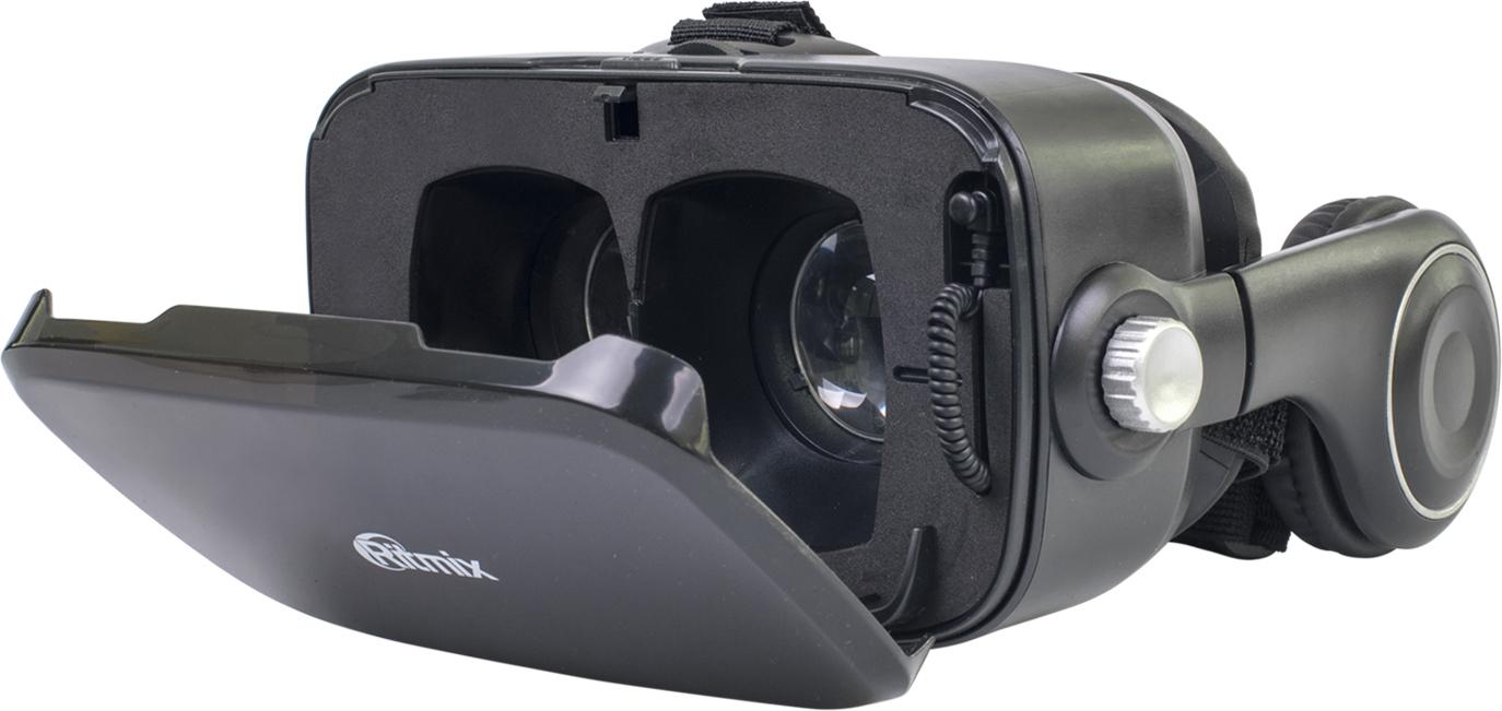 Ritmix RVR-005, Black очки виртуальной реальности телефон ritmix rt 005 синий