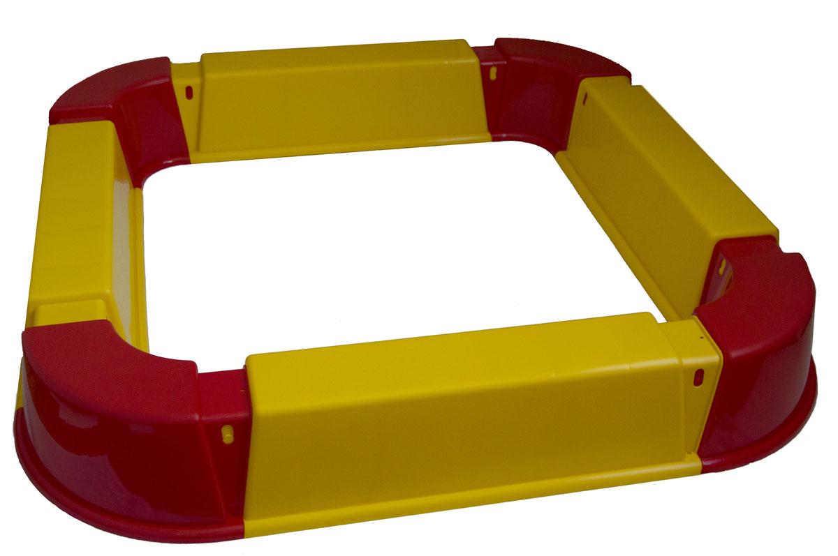 PicnMix Песочница Из Модулей цвет красный желтый песочница грузовик