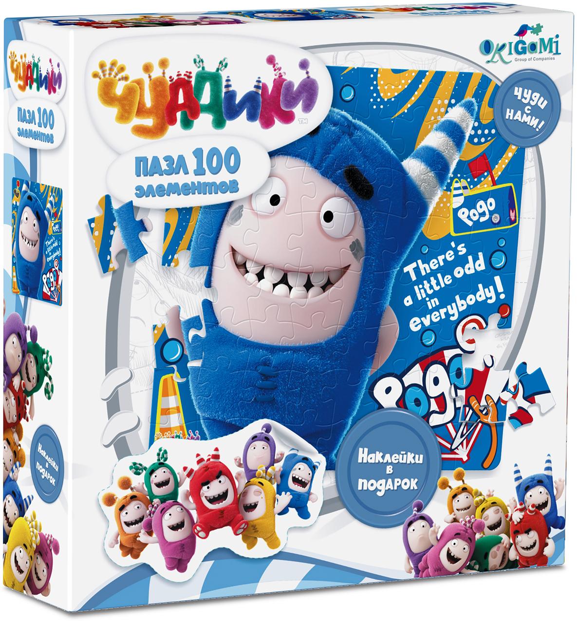 Origami Пазл для малышей с наклейками Pogo 100 элементов