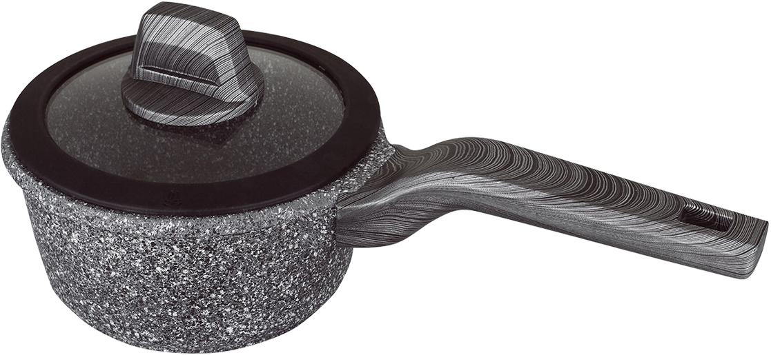 """Прочное антипригарное покрытие """"GREBLON C3"""". Покрытие не содержит PFOA, кадмий, свинец и полностью безопасно. Корпус из литого алюминия, нагревается равномерно и не деформируется. Можно использовать неострые металлические инструменты. Подходит для всех типов плит, включая индукционные. Ненагревающиеся ручки с покрытием """"Soft-touch"""", предотвращающим выскальзывание."""