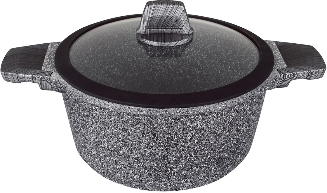 Кастрюля Tavolone Trento, с антипригарным покрытием и со стеклянной крышкой, 6,8 л сковорода tavolone trento 26cm 405008