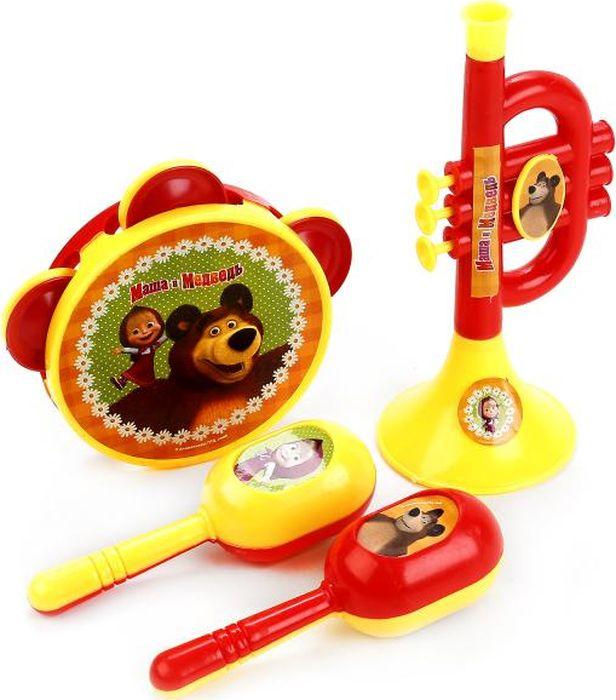 Играем вместе Набор музыкальных инструментов Маша Медведь B146715-R