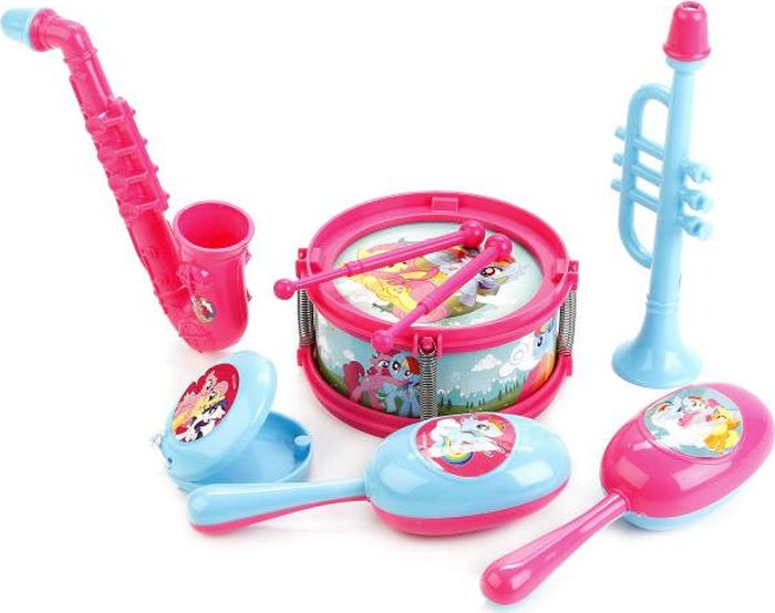 Играем вместе Набор музыкальных инструментов My Little Pony B1582336-R2 играем вместе бубен my little pony b421478 r2