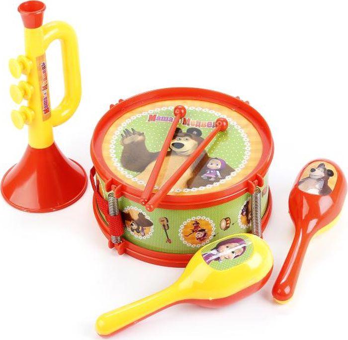 Играем вместе Набор музыкальных инструментов Маша Медведь B678624-R