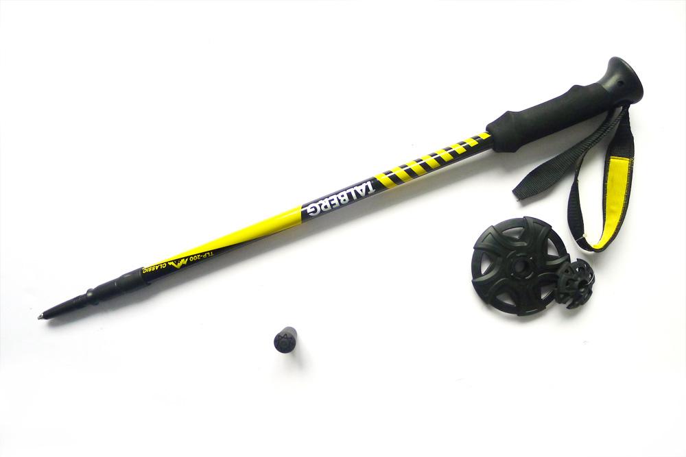 Палки для трекинга Talberg Classic Pole, цвет: черный, 62-135 см, 2 шт