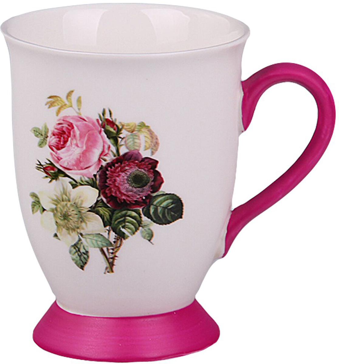 """Универсальная расцветка и дизайн фарфоровой кружки """"Patricia"""" подойдет буквально к любому интерьеру. Это необходимый предмет, без которого невозможен комфорт и уют."""