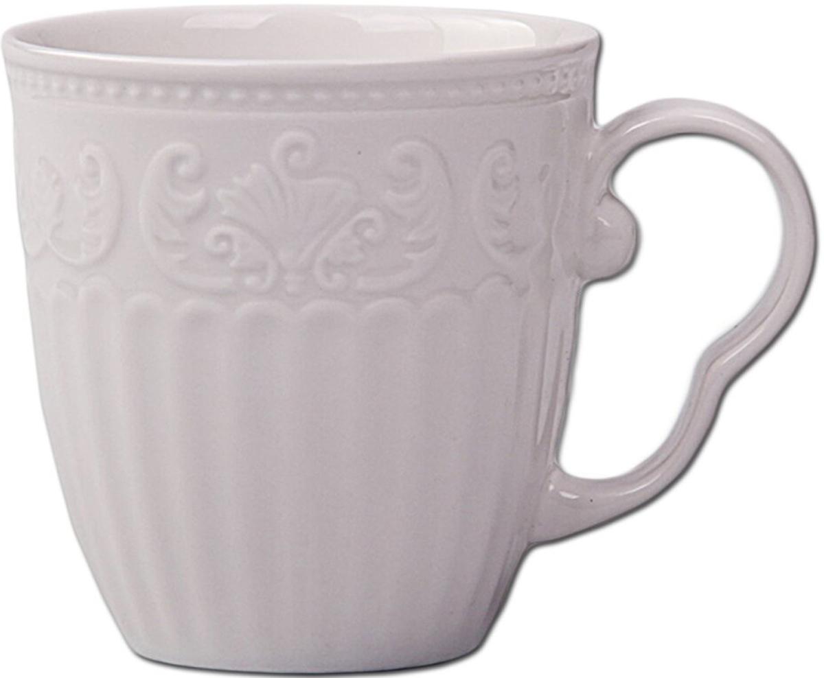 """Кружка """"Patricia"""" выполнена из фарфора высшего качества. Оснащена удобной ручкой.Не рекомендуется мыть в посудомоечной машине и использовать в микроволновой печи.Объем: 300 мл."""