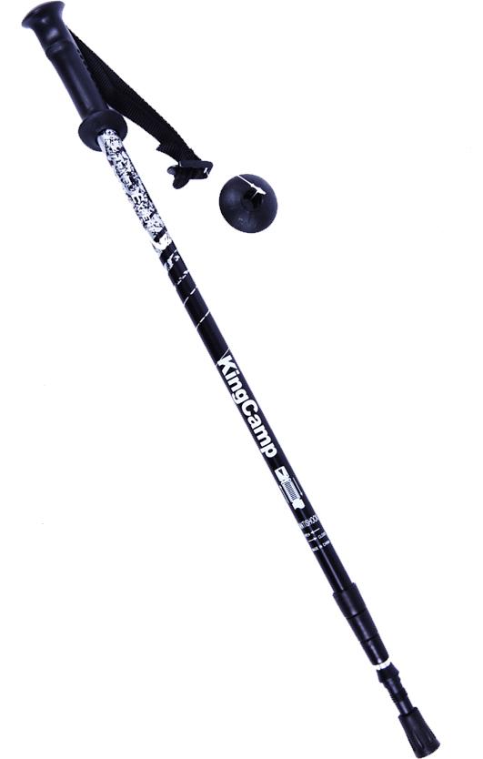 Палка для трекинга King Camp Multi-Function, цвет: черный, 68-135 см, 1 шт