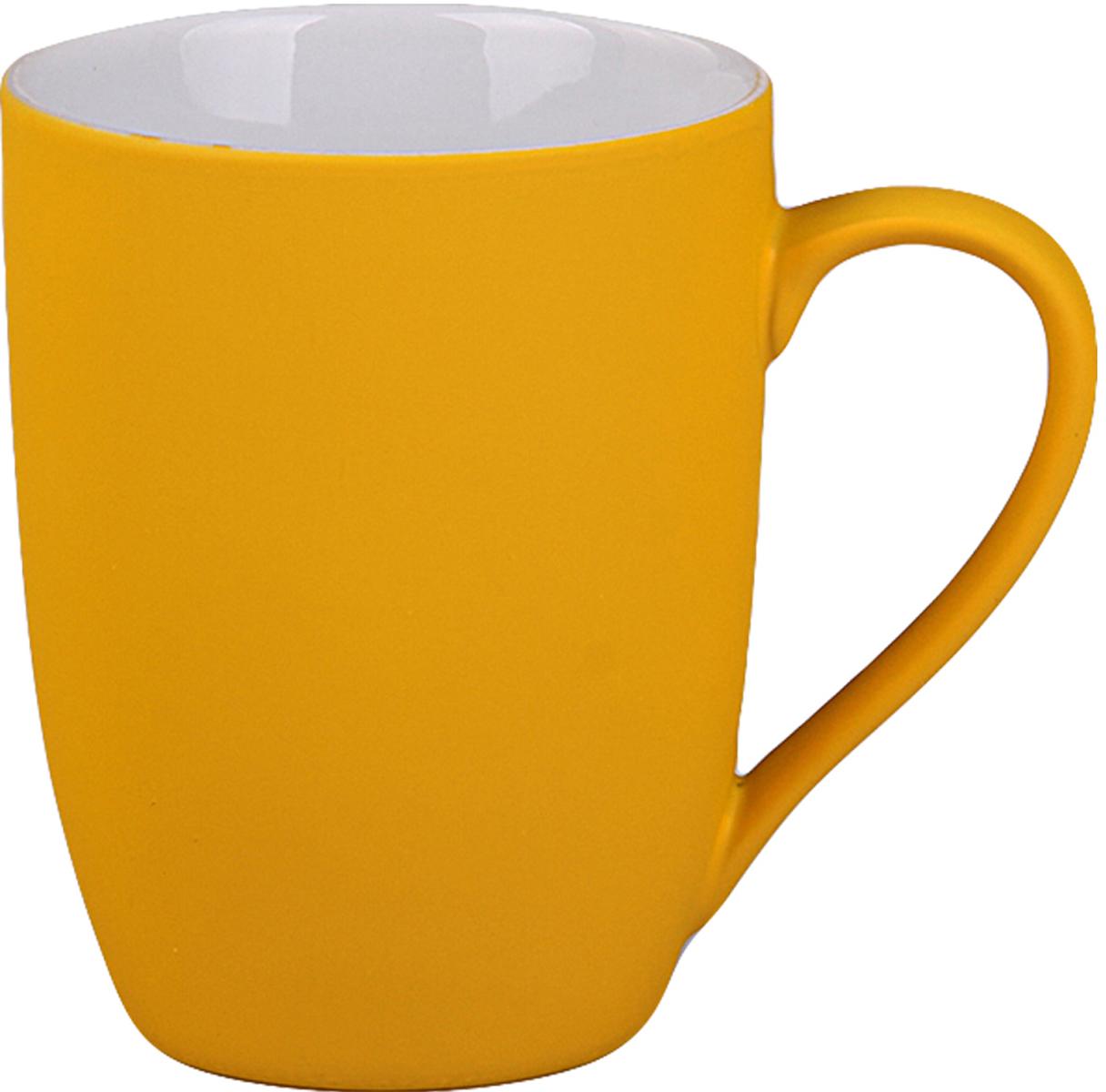 Кружка Patricia, цвет: желтый, 280 мл кружка ecowoo для мамы с подставкой 280 мл