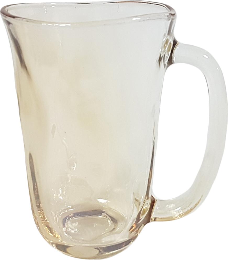 """Набор кружек """"Patricia"""" станет замечательным подарком на какое-либо торжество. Такой комплект будет отличным дополнением к набору посуды и отлично подойдет для сервировки стола. Стаканы можно использовать для подачи различных напитков. Посуда выполнена из высококачественного стекла и декорирована ярким узором.В наборе 2 кружки."""