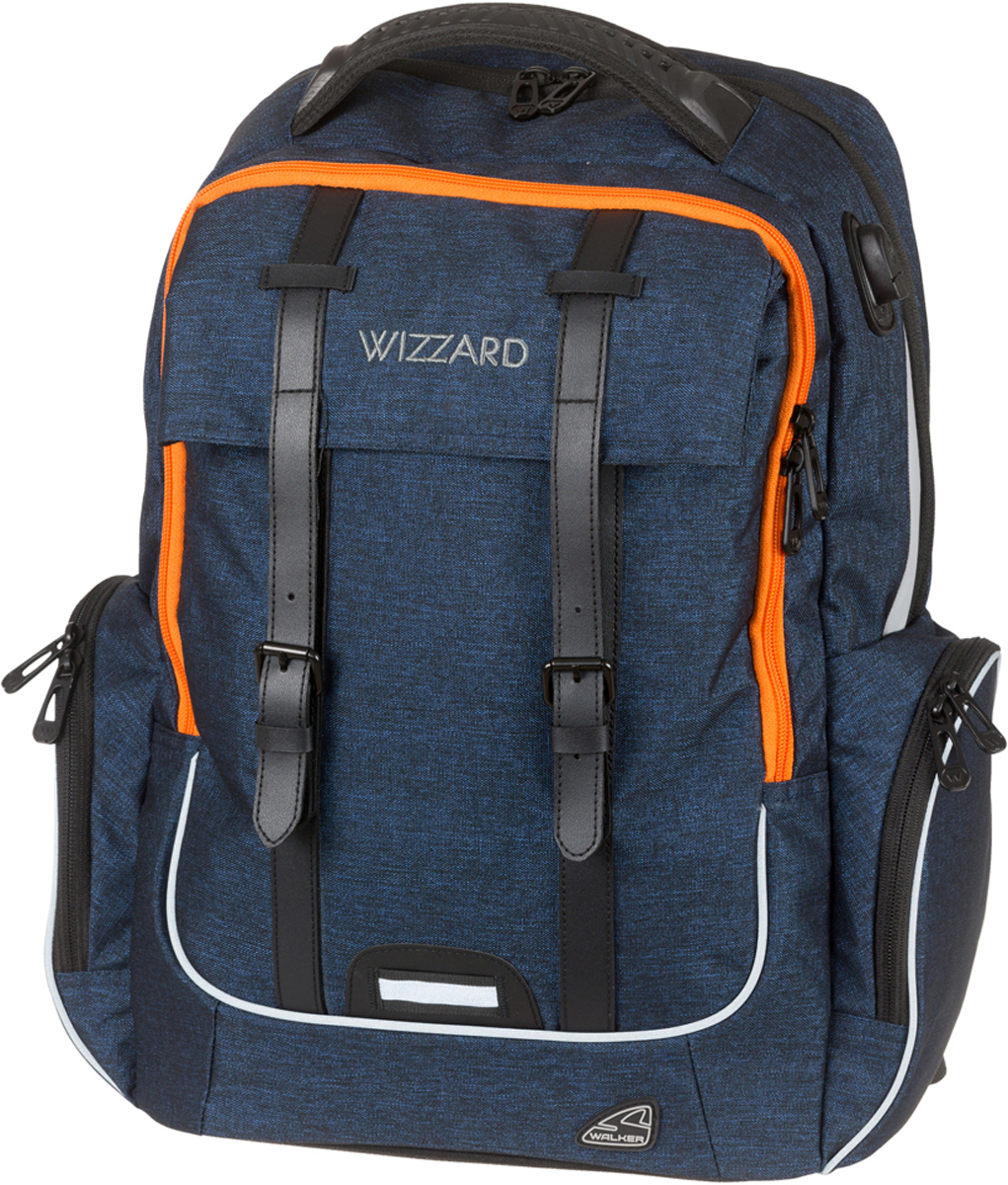 Schneiders Рюкзак Walker Wizard Academy Dark Blue Melange