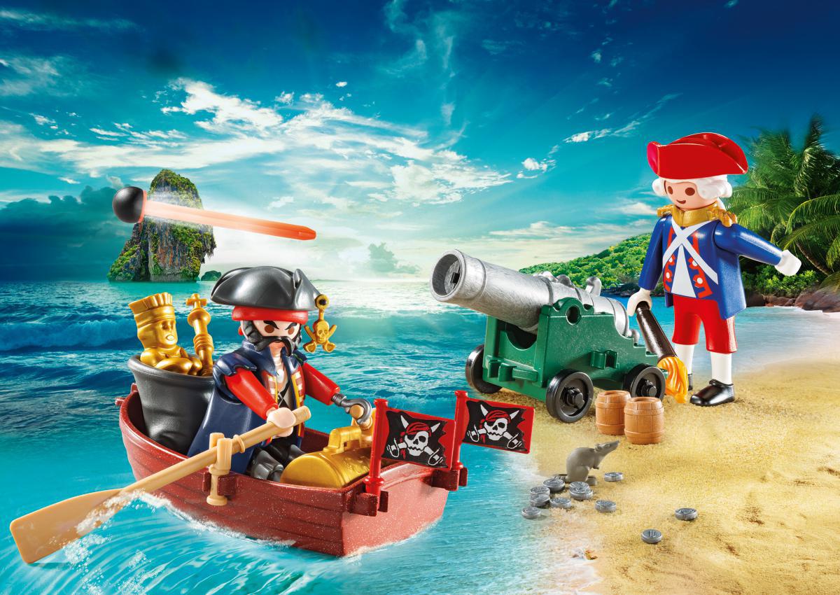 Playmobil Игровой набор Возьми с собой Охотник за сокровищами playmobil игровой набор возьми с собой пиратский плот