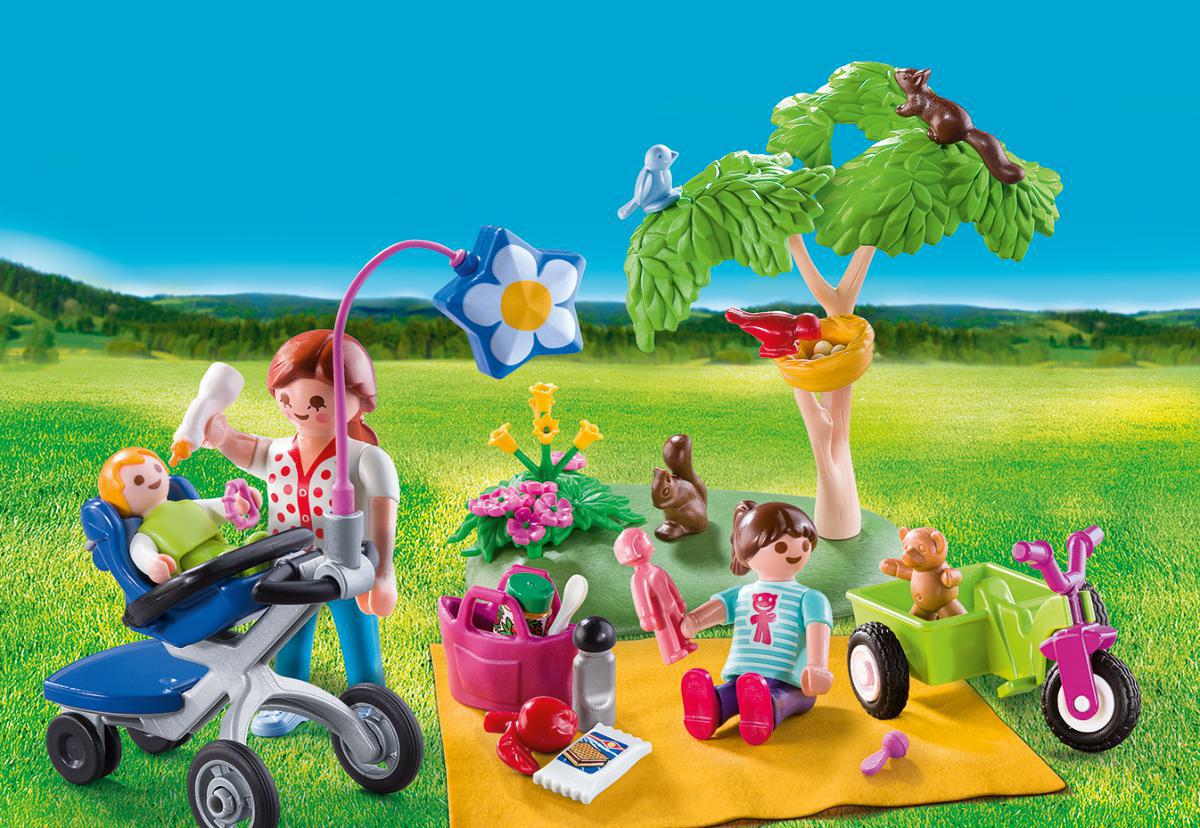 Playmobil Игровой набор Возьми с собой Семейный пикник playmobil игровой набор возьми с собой пиратский плот