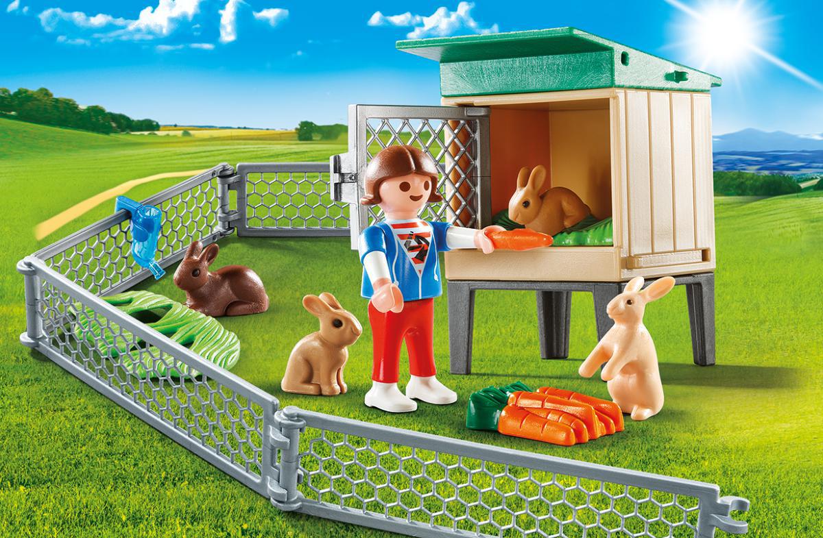 Playmobil Игровой набор Возьми с собой Домик кролика playmobil спасатели с носилками
