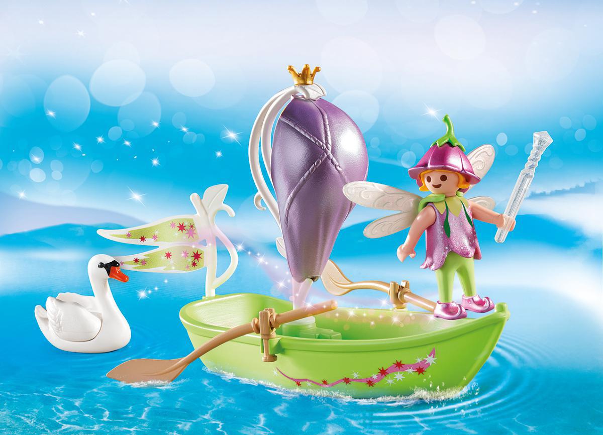 Playmobil Игровой набор Возьми с собой Лодка феи playmobil игровой набор в поисках приключений лодка с браконьерами