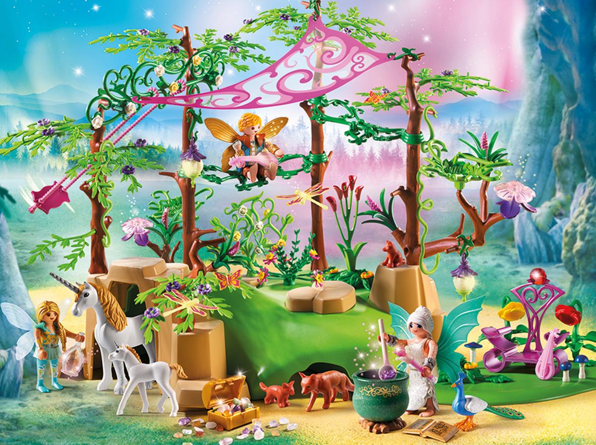 Playmobil Игровой набор Феи Лес волшебной феи волшебный подарок для маленькой феи