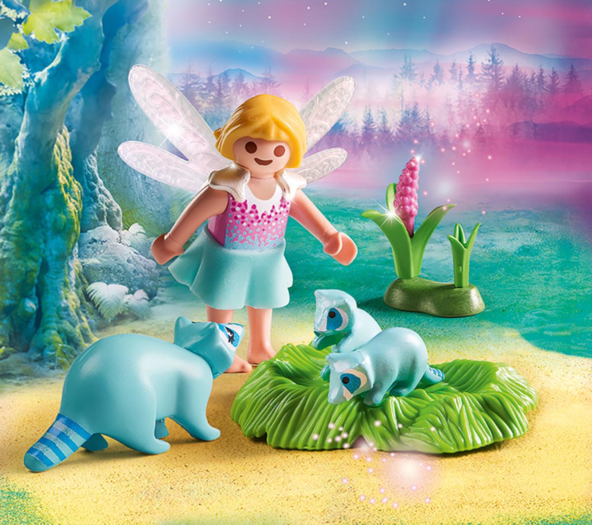Playmobil Игровой набор Феи Девочка-фея с енотами