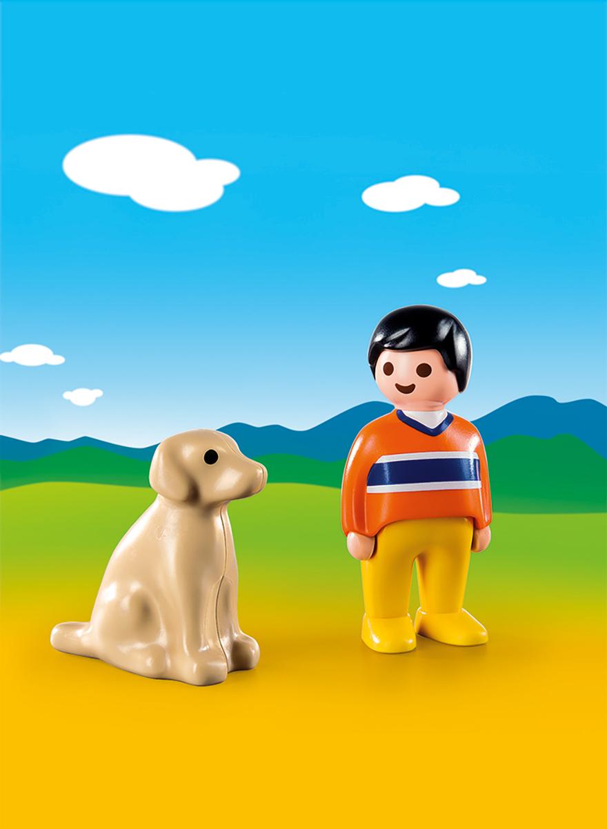 Playmobil Игровой набор Мужчина с собакой фигурки pavone фигурка дама с собакой