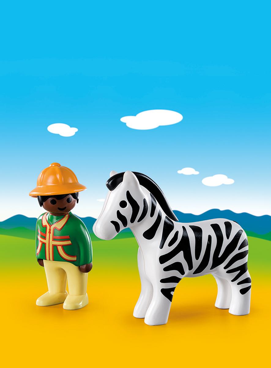Playmobil Игровой набор Следопыт с зеброй playmobil спасатели с носилками
