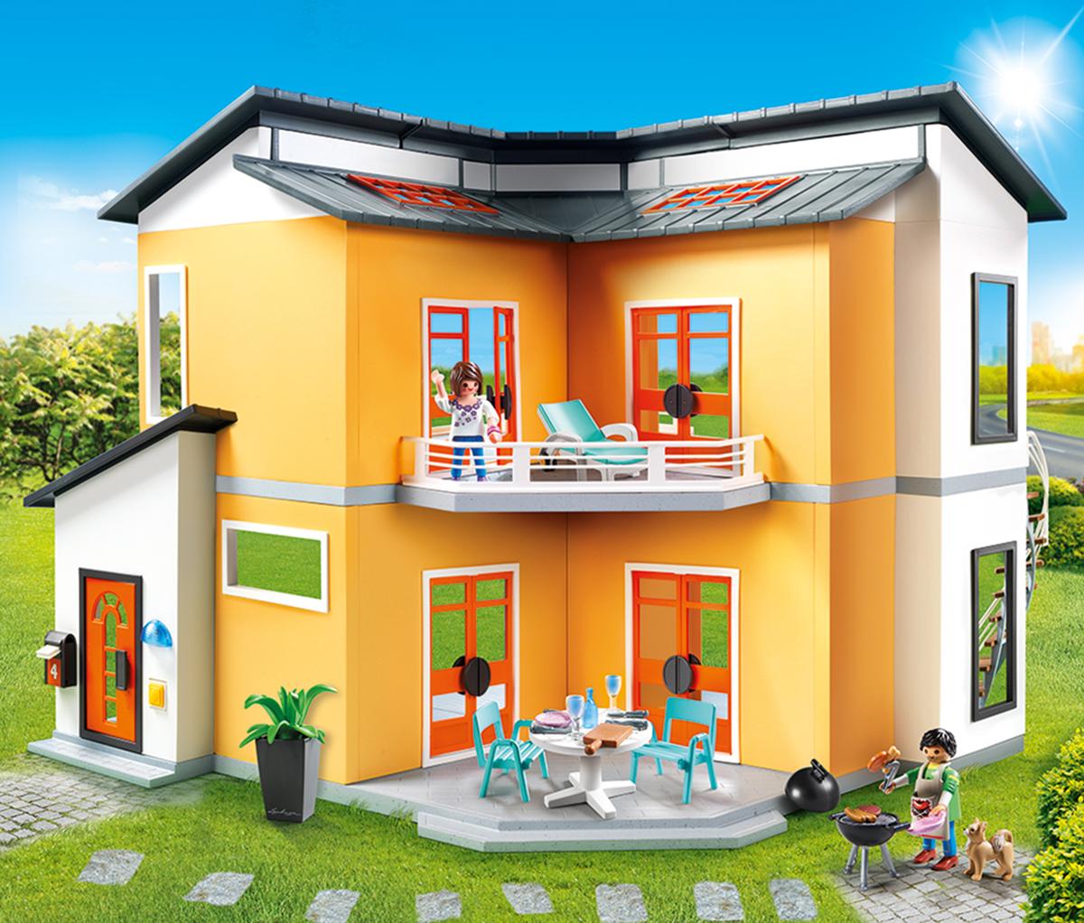 Playmobil Игровой набор Кукольный дом Современный дом playmobil игровой набор кукольный дом детская комната для 2 детей