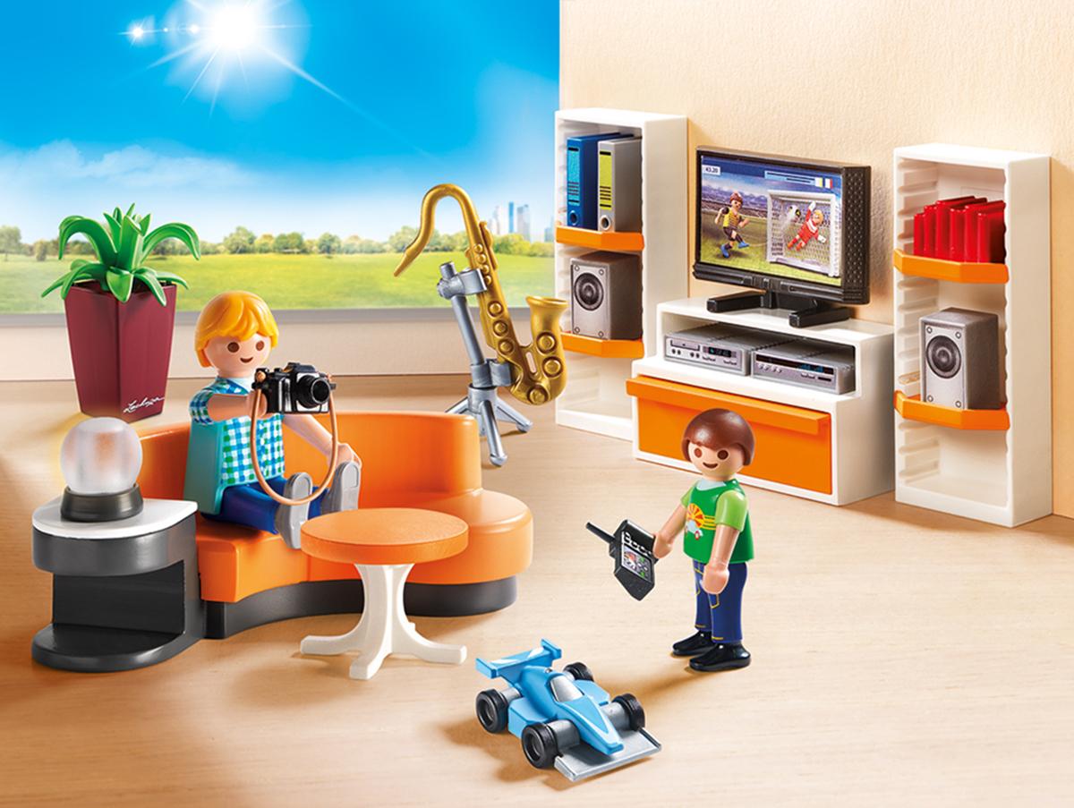 Playmobil Игровой набор Кукольный дом Жилая комната playmobil игровой набор кукольный дом детская комната для 2 детей