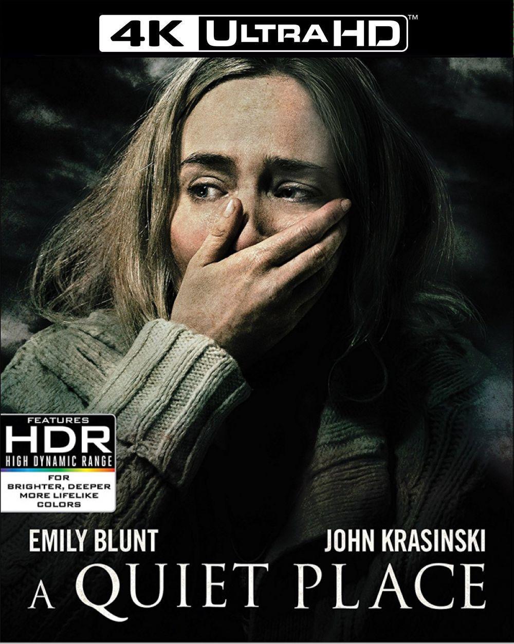 Тихое место (4K UHD Blu-ray + Blu-ray)