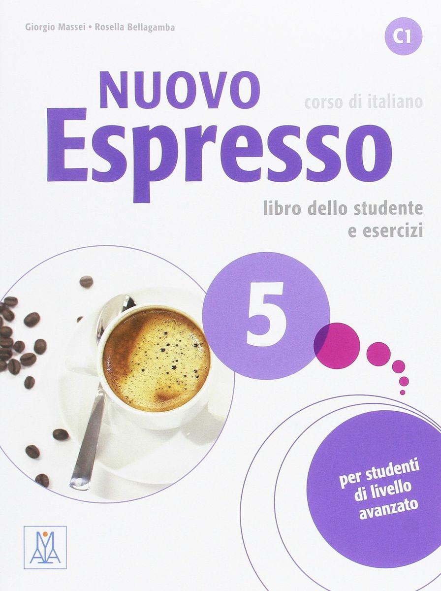 NUOVO Espresso 5 libro + CD audio