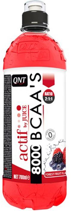 Напиток ВСАА 8000 содержит высокий уровень аминокислот. Незаменимые аминокислоты играют важную роль в производстве энергии, необходимой мышцам во время физической нагрузки. Именно поэтому часто используются во время тренировки для предотвращения катаболизма.вода, всаа (l-лейцин, l-изолейцин, l-валин), регуляторы кислотности (е330/е331), ароматизатор, консерванты (е202/е211), лимонный сок на основе концентрата 0,5%, подсластитель (e955), красители (е104/е110).