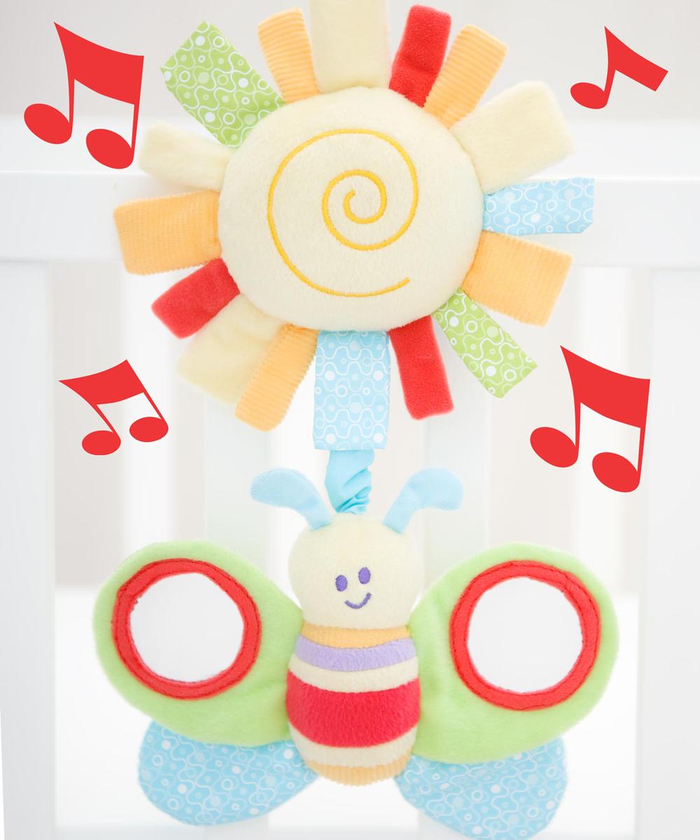 Little Bird Told Me Развивающая игрушка музыкальная Гусеница подвесные игрушки oops музыкальная кошка