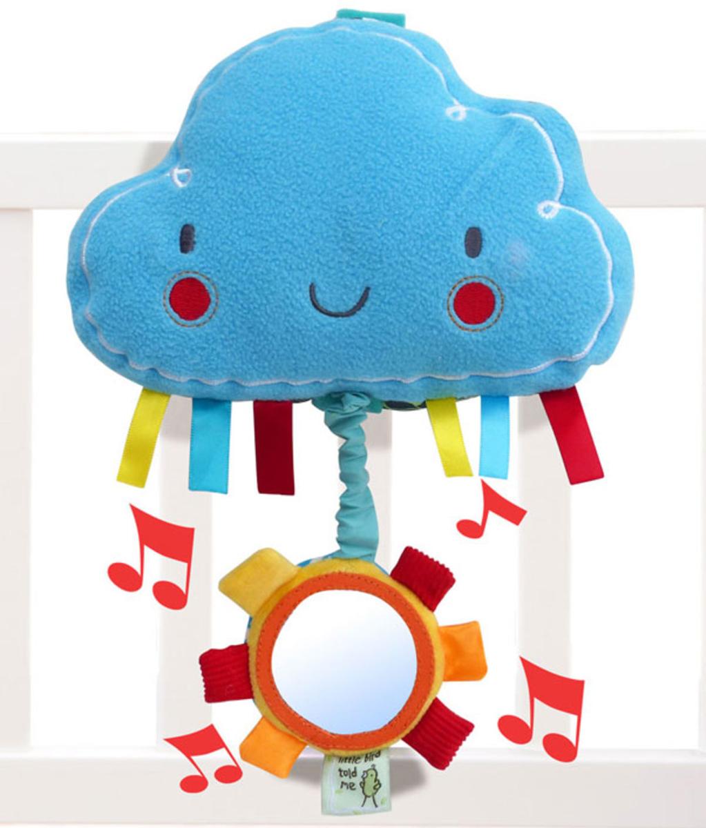 Little Bird Told Me Развивающая игрушка музыкальная Пушистое облачко