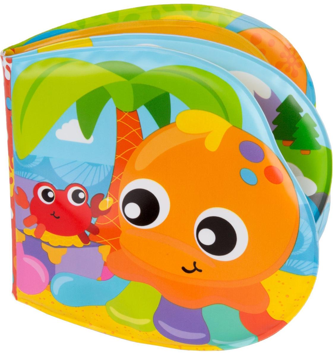 Playgro Игрушка для ванной Книжка с пищалкой ефремова е илл кружочки с многоразовыми наклейками выпуск 2
