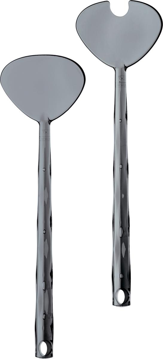 С кристально сияющими приборами для салата еда всегда будет самой сочной, здоровой и очень вкусной!  Для семей, ведущих активный образ жизни, каждый предмет коллекции CRYSTAL станет на вес золота: эта посуда удивит своей ударопрочностью, компактным хранением и легкостью.   Особенности: - привлекательная граненая форма с ноткой ретро; - весит мало, приятно держать в руках; - ударопрочность; - компактное хранение.